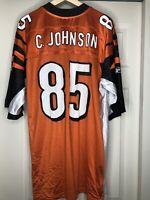 Reebok NFL Cincinnatti Bengals Chad Johnson Jersey Size L