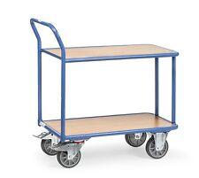 Tischwagen Magazinwagen Wagen Ladefläche 850x500mm Tragkraft 400kg Fetra 2600