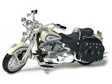 Harley Davidson modelo, 1997 flsts Heritage Springer, maisto moto 1:18
