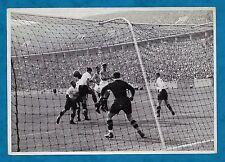 1936 BERLINO OLIMPIADI Grande Tedesco carte sigaretta scena della finale di calcio
