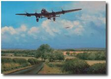 Welcome Sight (A/P) by Richard Taylor - w/ 2 Extra Signatures! - Aviation Art