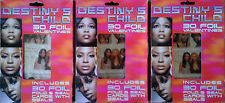 Destiny'S Child - 30 Foil Valentines - (3) Boxes - 2001 - Still Sealed