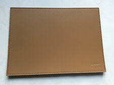 Pinetti Mouse pad 17 x 23 smooth leather toupe