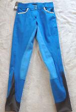 Esperado Damen Reithose, 3/4 Vollbesatz,Gr.72 blau , Modell Ischgl(1008 )