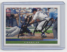 1993 TIGERS Alan Trammell signed card Upper Deck #532 AUTO Autographed HOF 2018