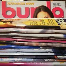 *  TENDANCES MODE - BURDA STYLE 2002