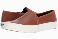 Keds Women's Cognac Double Decker Leather Shoes