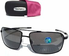 NEW* REVO CAYO AVIATOR in MATTE BLACK w Grey POLARIZED Sunglass 5001x 01 $200