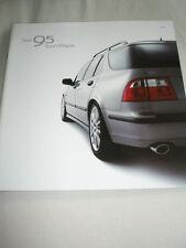 Saab 95 Sport Wagon range brochure 2002 Canadian market