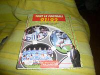 Jacques vendroux et thierry gilardi  tout le football 91/92