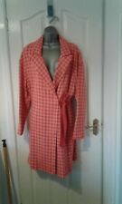 BNWT GORGEOUS RED AND PINK CHECKED PLUS SIZE COAT FROM NEXT MIX SIZE LARGE £200