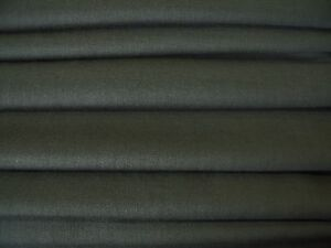 LIGHTWEIGHT POLY/WOOL SUITING FABRIC-FOREST GREEN -FREE P+P