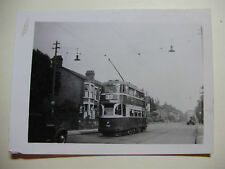 ENG1453 - c1950 LIVERPOOL CORPORATION TRAMWAYS - TRAM No966 Route 33 Photo