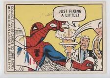 1966 Donruss Marvel Super Heroes #41 Spider-Man Non-Sports Card 1g9