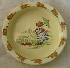 SYLVAC BABY BOWL OR NURSERY WARE 1960s