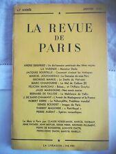 La revue de Paris janvier 1955