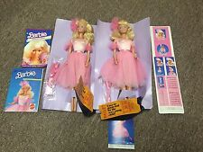 VINTAGE ORIGINAL LOT OF 2  BALLERINA  FIRST BARBIE  DOLL BALLET  MATTEL 1984