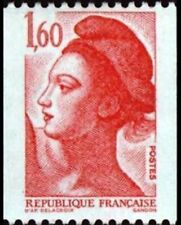 """FRANCE STAMP TIMBRE YVERT N° 2192 """" LIBERTE 1F60 DE ROULETTE """" NEUF xx LUXE"""
