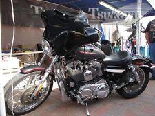 Tsukayu Small Batwing Fairing For Harley H-D XL Sportster Custom (Black)
