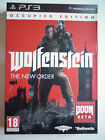 """Wolfenstein The New Order Occupied Edition Jeu Vidéo """"PS3"""" Playstation 3"""