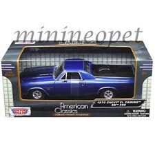 MOTORMAX 79347 1970 70 CHEVROLET EL CAMINO SS 396 PICK UP TRUCK 1/24 BLUE