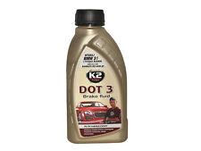 ORIGINAL K2 DOT 3 Bremsflüssigkeit fluid DOT3 500ml Flüssigkeit Bremsen AUTO