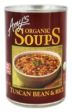 Amy's - Organic Soup Tuscan Bean & Rice - 14.1 oz.