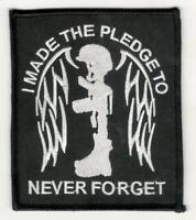 FALLEN SOLDIER Battlefield Cross Military Marines Army Navy Suit Tie Bar Clip