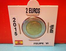 Moneda 2 Euros ESPAÑA 2015 (FELIPE VI)