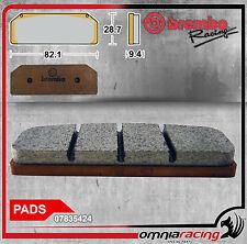Coppia Pastiglie Freno Z04 Brembo Racing per Pinza Brembo P4 34/38  ref 07835424