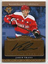 16-17 Upper Deck Ultimate Collection Hockey Jakub Vrana Rookie Auto Card 100/199