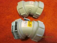 1  ENFIELD LABLINE W211, 156216, 1/8 Bend 1-1/2In chemical waste fitting, MJxLN
