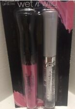WET n WILD Lip-gloss set-Megalast Liquid Lip Colour & Megaslicks Lipgloss