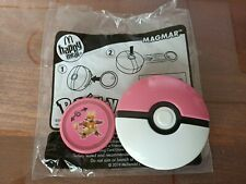 McDonald's Happy Meal Toys Pokemon 2019 Magmar Pink Ball Used