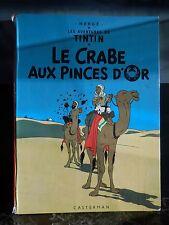 le crabe aux pinces d'or les aventures de Tintin Hergé ARTBOOK by PN