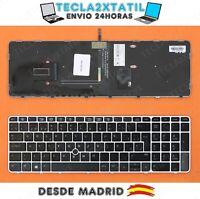 TECLADO PARA PORTATIL HP ELITEBOOK ZBOOK 15U G3 ESPAÑOL RETROILUMINADO