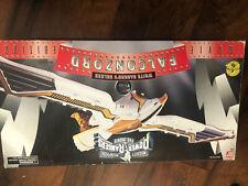 1995 Bandai Mighty Morphin Power Rangers White Ranger's Falconzord Movie Edition