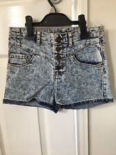 high waisted shorts size 10