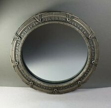 Stargate SG1 Gate Mirror Bronze Sculpture Collector Art Prop Replica Statue