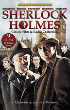 Sherlock Holmes 9 Classic Film TV + 20 Radio Shows Collection DVD 3-Disc Set NEW