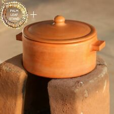 SwadeshiBlessings Exclusive Range Unglazed Earthen Cookware/Clay Pot For Cooking