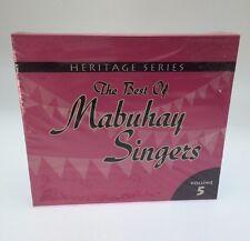 Heritage Series: The Best Of Mabuhay Singers Vol 5 Filipino Cd