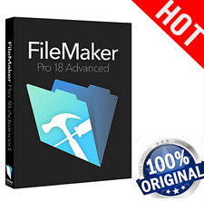 FileMaker Pro 18 Advanced✔ Full Versio 🔥 Win/MAC OS🔥 Lifetime License Key ✅