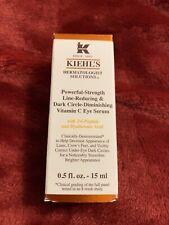 kiehls powerful strength line reducing & Dark Circle Diminishing