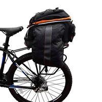 Ibera Bicycle Rear Commuter Trunk Bag & Touring Disc Brake Rack NEW IB-BA14-RA5