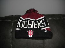 NEW '47 Brand Indiana Hoosiers NCAA Knit Winter Ski Cap Hat Pom Basketball