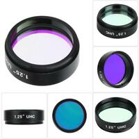 """1.25"""" 31.7mm Filter UHC Light Pollution Inhibition Lens f Astronomical Telescope"""
