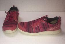 ARIAT 7381 Pink Tennis Shoes Men's Size 4.5 Women's 6