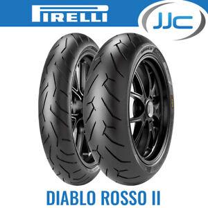 120 70 17 ZR17 58W Pirelli Diablo Rosso II 2 Performance Motorcycle Road Tyre