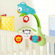Fisher Rainforest Friends 3 in 1 Musical Mobile 20 Minutes of Music CHR11